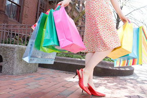 Shopping at Branson Landing