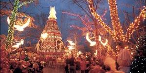 Living Christmas Tree at Silver Dollar City
