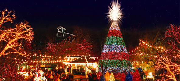 Silver Dollar City Christmas 591 × 265