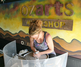 Spend a Rainy Day Indoors at Ozarts Workshop in Downtown Branson