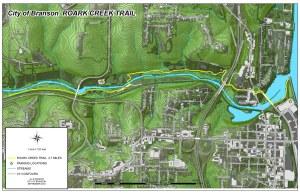 Roark Creek Trail Map