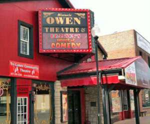 Historic Owens Theatre in Branson, MO