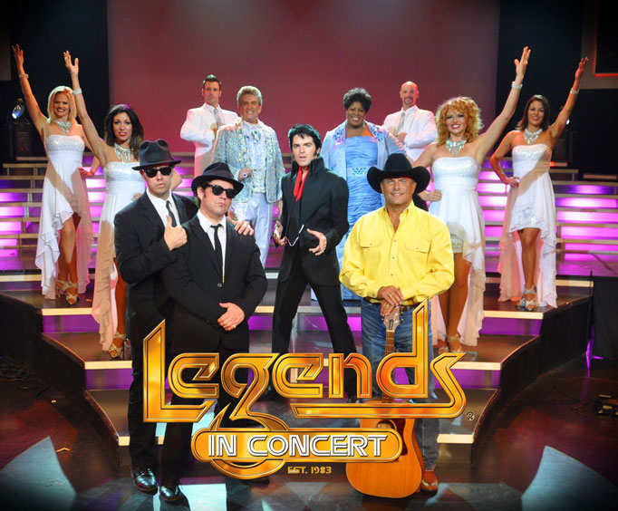 Say Hello to 2015 With Branson's Legends inConcert
