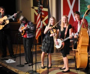 The Petersen Family Bluegrass Band