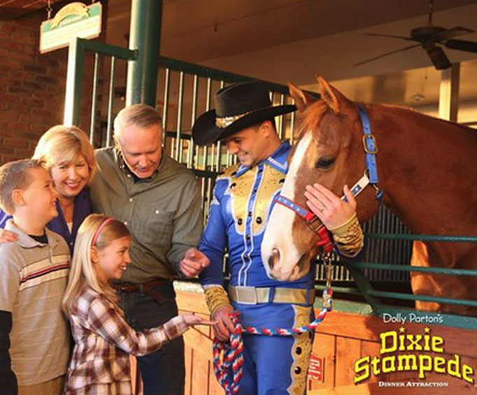 Have the Most Fun With Dolly's Dixie Stampede