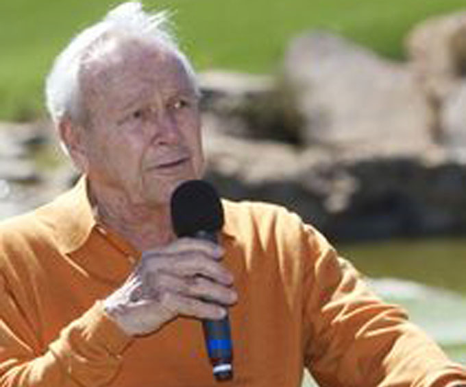 Arnold Palmer Visits Branson's Top of theRock