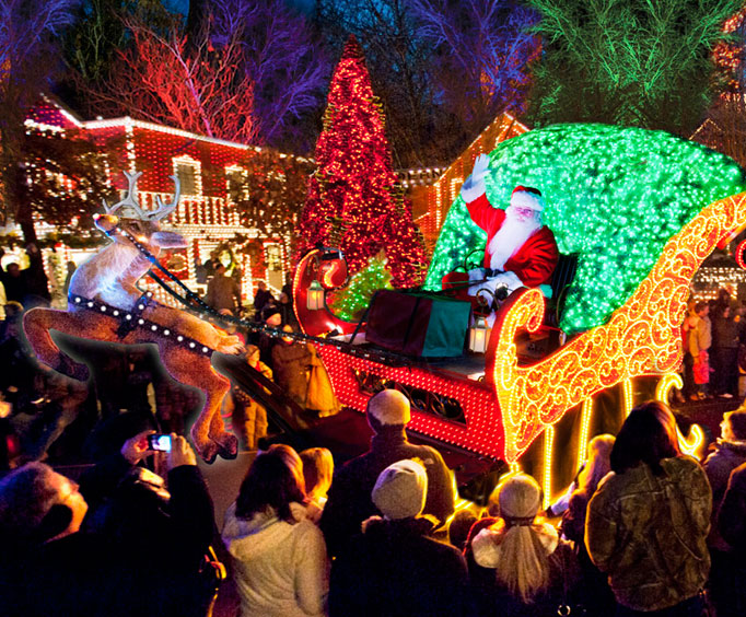 Silver Dollar City's Holiday Lights Make CNN Travel's Top List