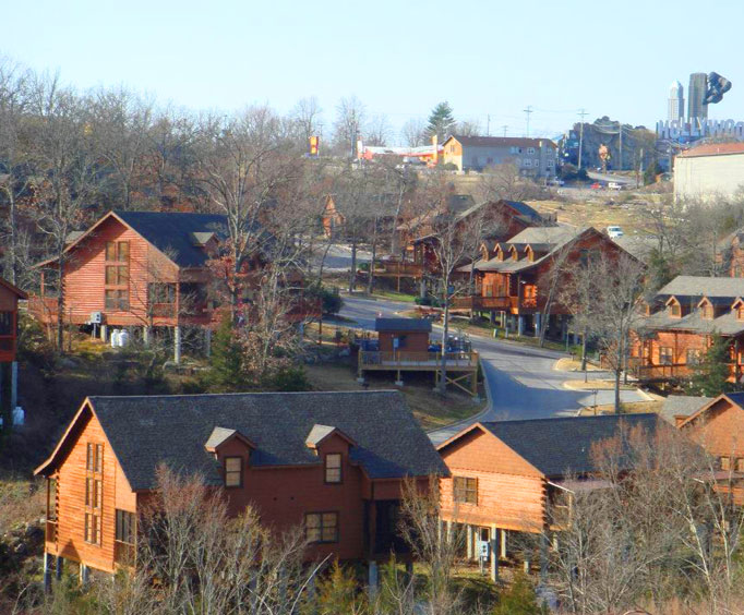 Incroyable Cabins At Grand Mountain Branson