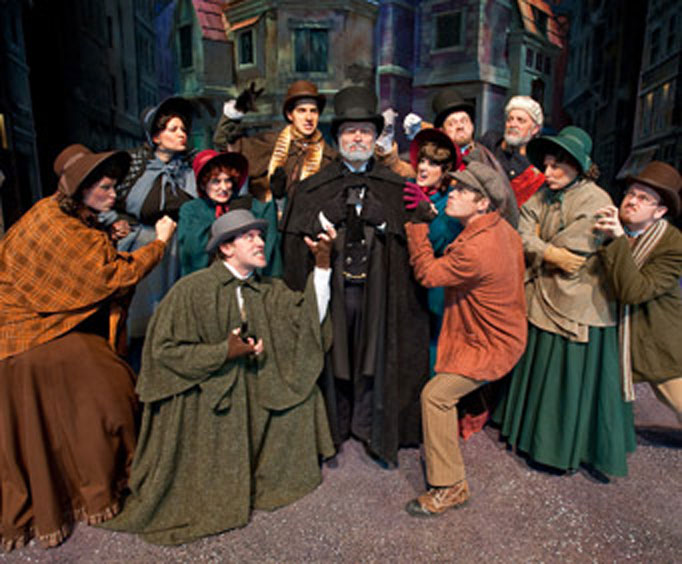 "See ""A Dickens' Christmas Carol"" at Silver Dollar City"