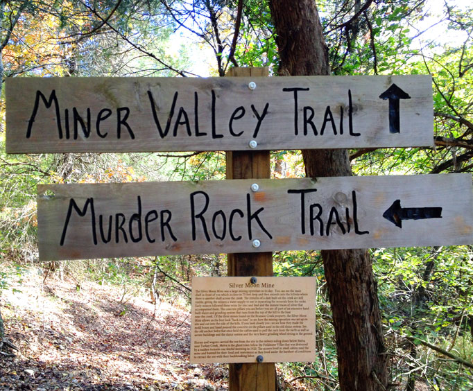 Discover the Adventures of Branson's Murder Rock Trail