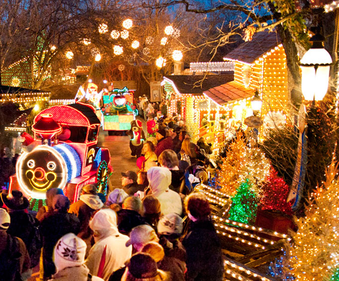 Silver Dollar City One of the Top 10 Places to See Holiday Lights