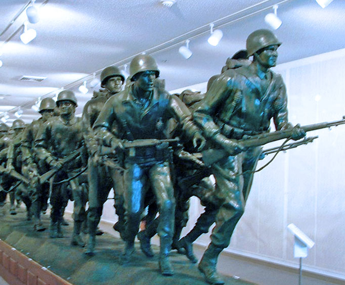 Inside the Branson Veterans Memorial Museum