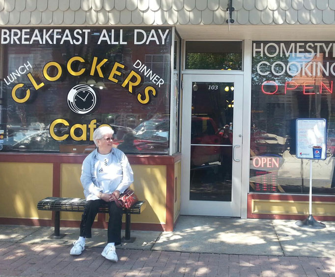 Food Friday: Clocker's Cafe