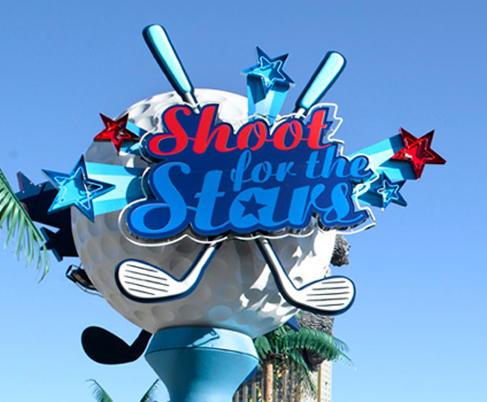 Golf in Style With Shoot For the Stars Mini Golf