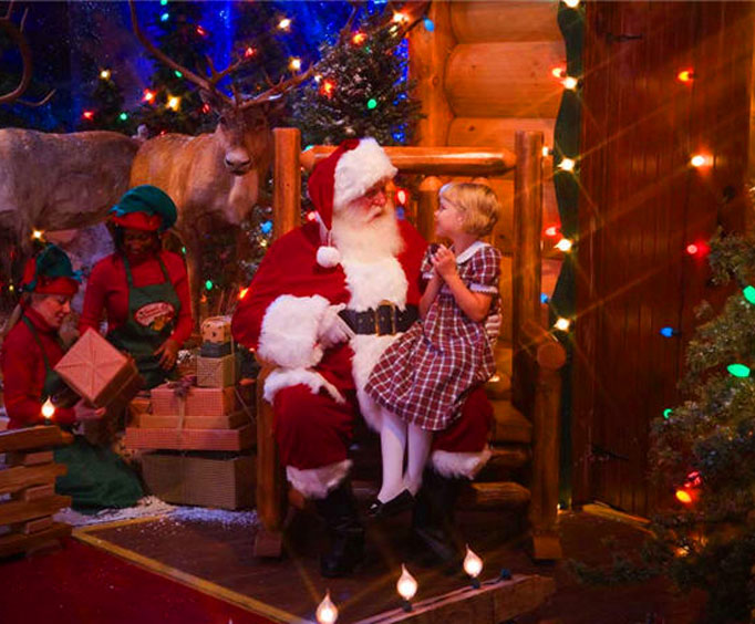 See Santa at Bass Pro Shops in Springfield, Just a Short Drive from Branson