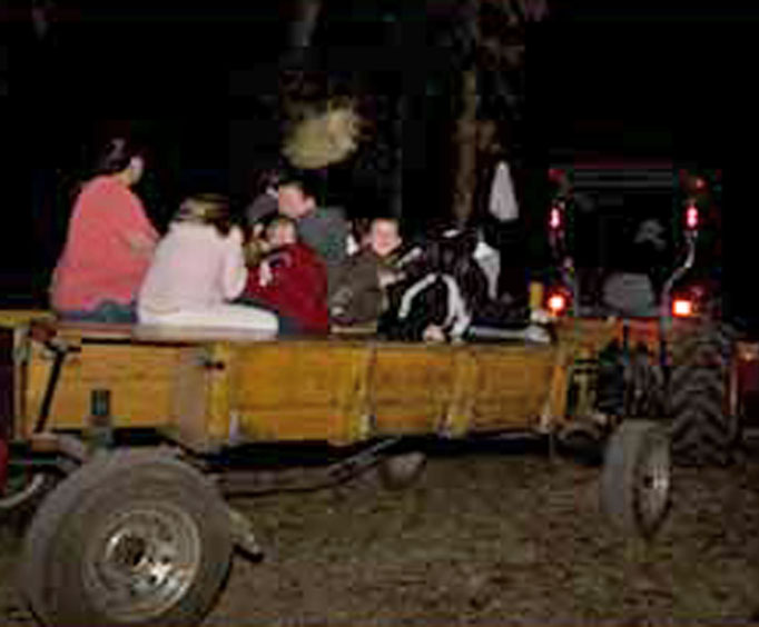 Dare to try a Haunted Trail Ride?