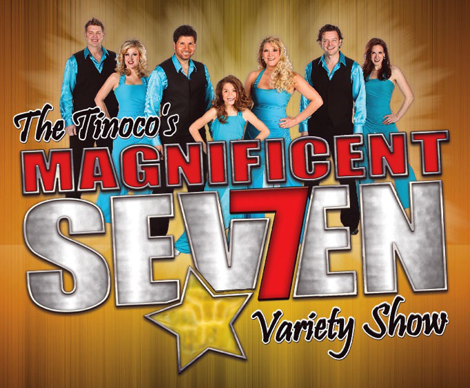 Enjoy 7 Decades of Music With the Magnificent 7 Variety Show