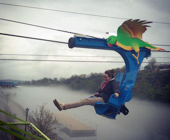 Zip Your Way Across Lake Taneycomo with Parakeet Pete's WaterfrontZipline