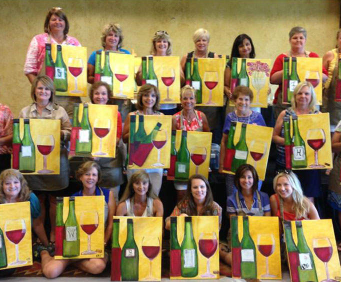 Spend the Day Painting at Big Cedar Lodge