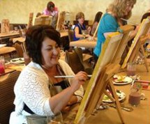 Painting at Big Cedar Lodge