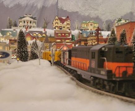 Eureka Springs' Snow Train Village