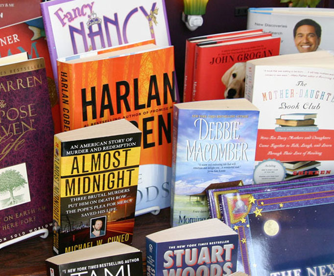 Pick Up a Good Read At T. Charleston's Books &Gifts