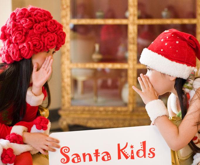 See Santa at the Beautiful Chateau on theLake
